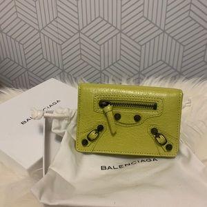 BNWOT Authentic Balenciaga card holder